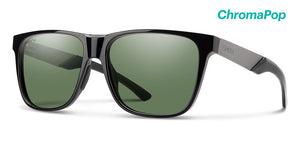 Smith Lowdown XL Steel Black ChromaPop Polarized Gray Green Lense Sunglasses