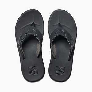 Reef Mens Rover Sandal - All Black SURF WORLD