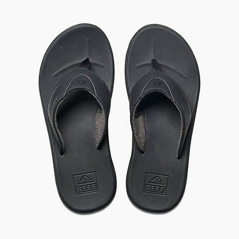 Reef Mens Rover Sandal - All Black