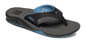 Reef bottle opener Fanning Sandals - Grey Light Blue SURF WORLD