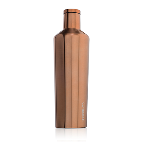 Corkcicle Canteen 25oz Brushed Copper - SURF WORLD Florida