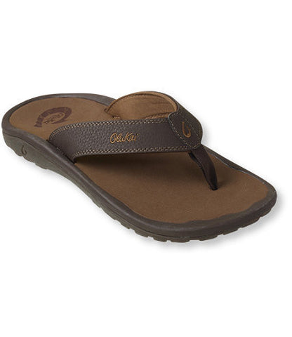 Olukai Men's Ohana Dark Java / Ray Brown Light Brown Sandals 10110A4827 - SURF WORLD  - 1