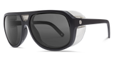 Electric Stacker Matte Black OHM Polarized Grey Lens Sunglasses - SURF WORLD Fort Lauderdale Florida