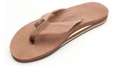 Rainbow Sandals Dark Brown Premier Leather Double Layer Arch Sandal 302ALTS0DKBR - SURF WORLD  - 1