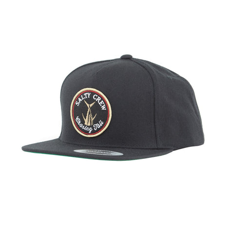 Salty Crew Tails Up 5 Panel Men's Hat - Black