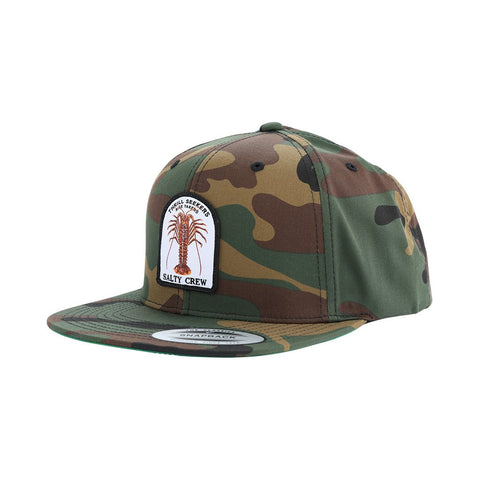 Salty Crew Buggin Out 6 Panel Mens Hat - Camo
