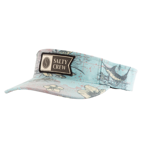 Salty Crew Stamped Visor - Light Blue