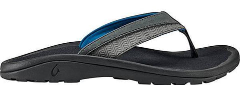 Olukai Ohana Koa Mens Sandal - Dark Shadow Dark Shadow