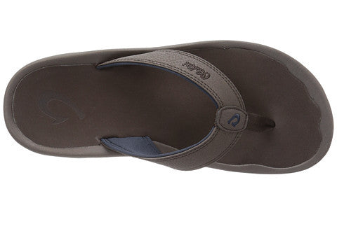 Olukai Men's Ohana Sandals - Dark Wood/ Dark Wood - SURF WORLD Fort Lauderdale Florida