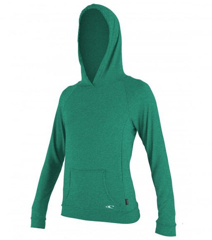 Oneill Women's Hybrid L/S Hoody - Seaglass - SURF WORLD Fort Lauderdale Florida