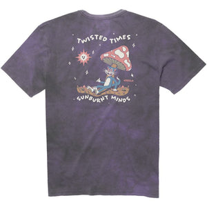 Vissla Toasted Tie Dye Tee - Dusty Lilac