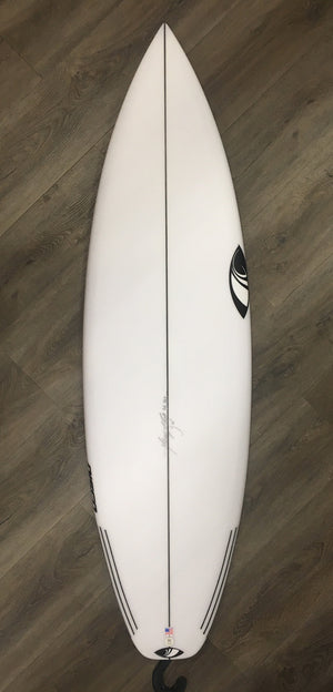 "Sharp Eye Disco Surfboard - 5'10"" x 19.5 x 2.5 x 30 Liters Futures SURF WORLD"