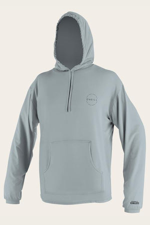Oneill 24-7 Traveller Long Sleeve Hooded Sun Shirt - Grey 5052 SURF WORLD