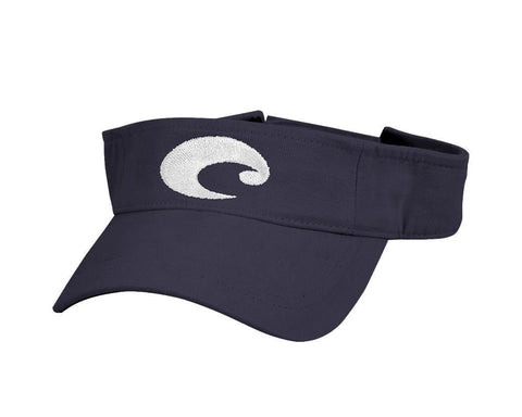 Costa Cotton Visor in Black HA 15BL - SURF WORLD