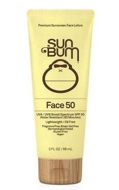 Sun Bum Face Lotion SPF 50 3 oz