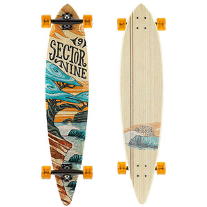 Sector Nine Eclipse Bonsai Complete Longboard Skateboard SURF WORLD