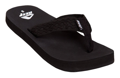 Reef Smoothy Black Sandal 0313 - SURF WORLD  - 2