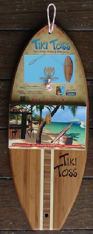 TIKI TOSS RING GAME TOSSBOARD - SURF WORLD Florida