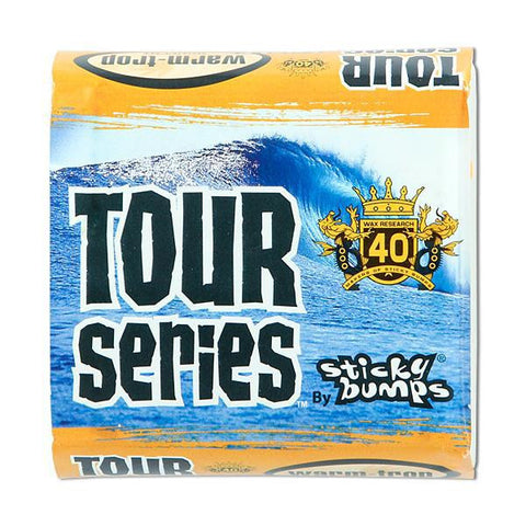WarmTrop Sticky Bumps Tour Series Tropical Surf WAX - SURF WORLD Fort Lauderdale Florida