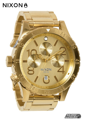 Nixon 48-20 Chrono Gold A486502 - SURF WORLD Florida