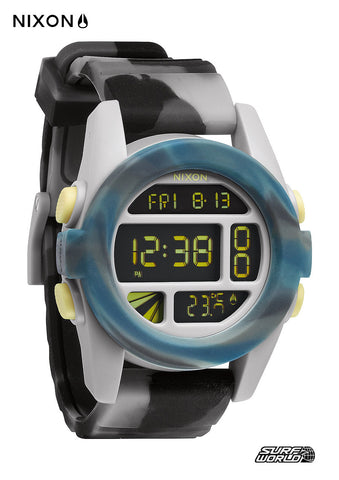 Nixon Unit Marbled Black Smoke Watch A1971611 - SURF WORLD Florida
