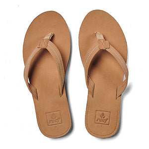 Reef Voyage Lite Leather Womens Sandals - Tobacco SURF WORLD