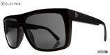 Electric Black Top Gloss Black Sunglasses EE12801620 - SURF WORLD Florida