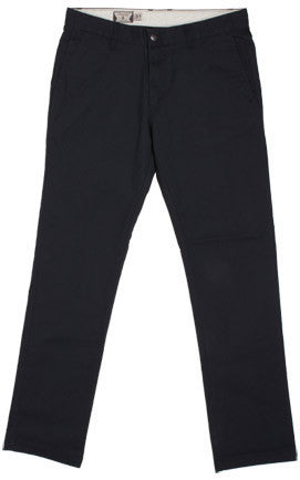 Volcom Frickin Mod Chino Black Pants A1131008BLK - SURF WORLD Florida