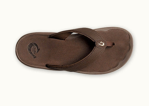 Olukai Women's Ohana Dark Java Dark Java Sandal 20110 - SURF WORLD Florida