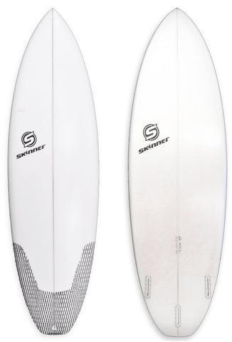 "Skinner Surfboards Mullet Run 6'2"" x 21.50 "" x 2.6"" 39.20 Liters - SURF WORLD  - 1"