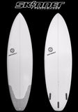 "Skinner Surfboards Mullet Run 6'6"" x 21.65 "" x 2.65"" 45.25 Liters - SURF WORLD  - 2"