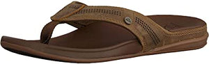 Reef Mens Cushion Bounce Lux Sandal - toffee brown