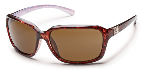 SunCloud Blossom Tort Backpaint Brown Polarized Sunglasses - SURF WORLD Florida