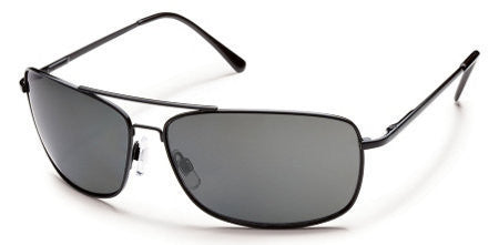 SunCloud Navigator Black/ Gray Polarized Sunglasses SNVPPGYBK - SURF WORLD Florida