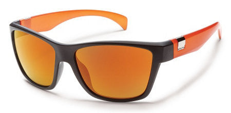 SunCloud Speedtrap Black Orange/ Orange Mirror Polarized Sunglasses SSPPPOMBO - SURF WORLD Florida