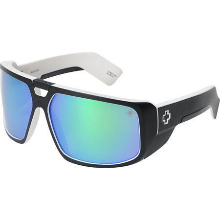 SPY Touring Whitewall Grey With Green Spectra Lense Sunglasses 670795809811 - SURF WORLD Florida