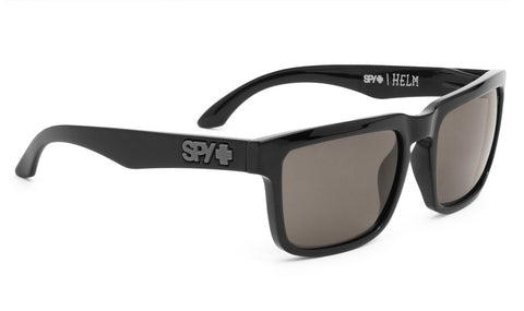 SPY Helm Shiny Black With Polarized Bronze Lens Sunglasses 673015038832 - SURF WORLD Florida