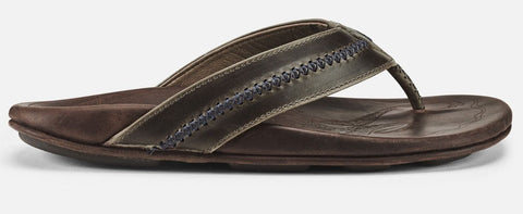 Olukai Mea Ola Mens Sandals - Dark Shadow Mustang