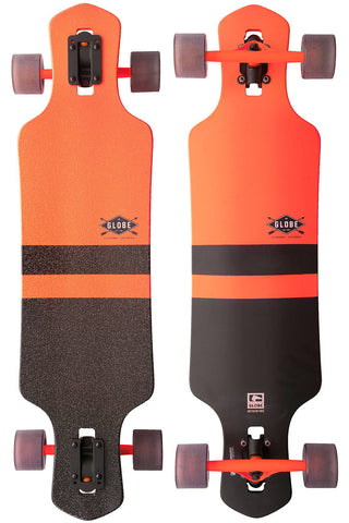 Globe Geminon Fluoro Orange/ Black Cruiser - SURF WORLD Florida