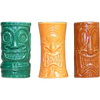 KC Hawaii Drinkware Good Luck Tiki Stackable Shot Glasses 70300