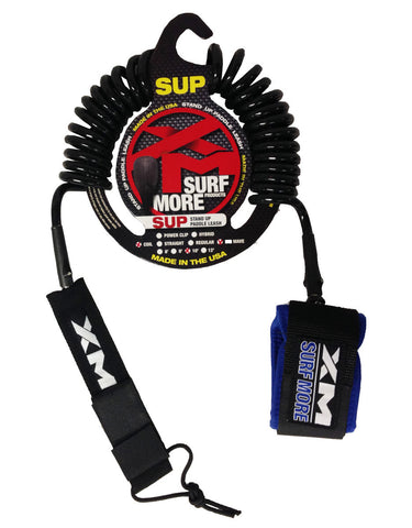 XM Coiled 10ft Sup Leash XMC10 - SURF WORLD Fort Lauderdale Florida