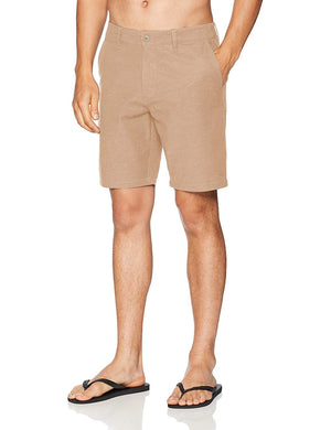 RVCA Back In Hybrid Mens Shorts - Khaki