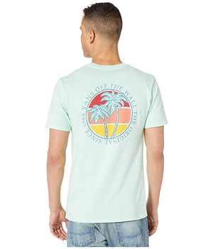 Vans Vintage Shorizon Mens T Shirt - Mist Green SURF WORLD