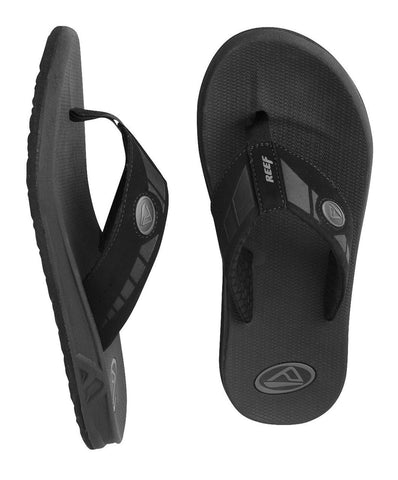 Reef Phantoms Mens Black Sandals Phantom 2476BLA - SURF WORLD Florida