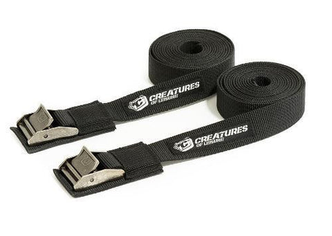 Creatures Of Leisure Tie Downs 12' ATD365BK - SURF WORLD Florida