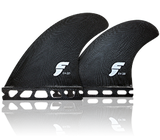 FUTURES FINS FEA Glass Quad Medium Black Fiberglass Fins - SURF WORLD Fort Lauderdale Florida