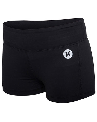 Hurley Black Dri Fit Compression shorts GAB0000460 - SURF WORLD Fort Lauderdale Florida