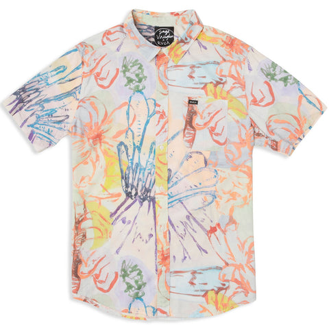 RVCA Vaughn Floral Men's Woven Shirt - Mul