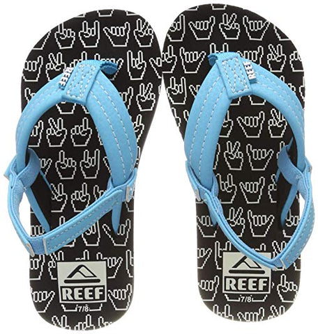Reef Kids Ahi Glow Sandals - Shaka Glow