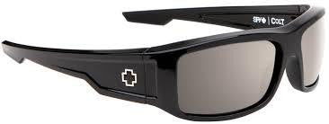 SPY Colt Black Polarized Happy Lens Sunglasses 673075038832 - SURF WORLD Florida